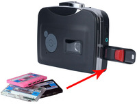Original Genuine Ezcap Audio Capture Walkman MP3 Music Player, CD,Old Cassette Tape to MP3 Converter Recorder to USB Flash Disk