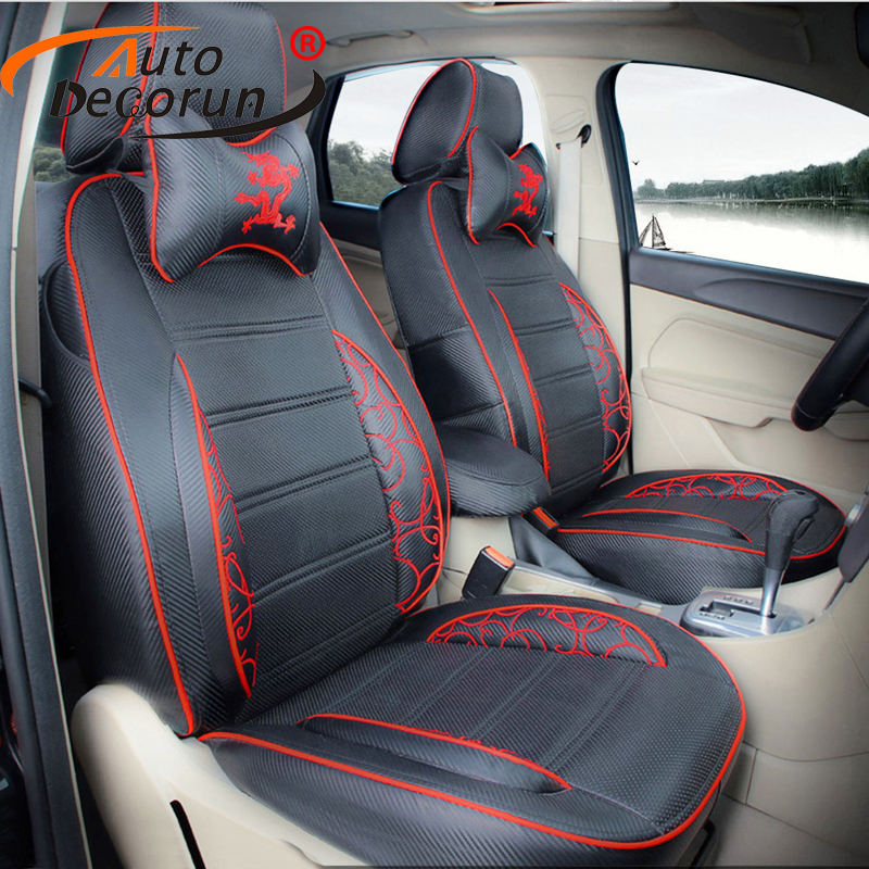 autodecorun dedicated cover seat for peugeot 206cc seat covers car seat cushion interior. Black Bedroom Furniture Sets. Home Design Ideas