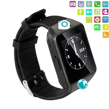 DZ09 Bluetooth Smart Watch Support SIM Card with Camera Pedometer Smartwatch For Android IOS