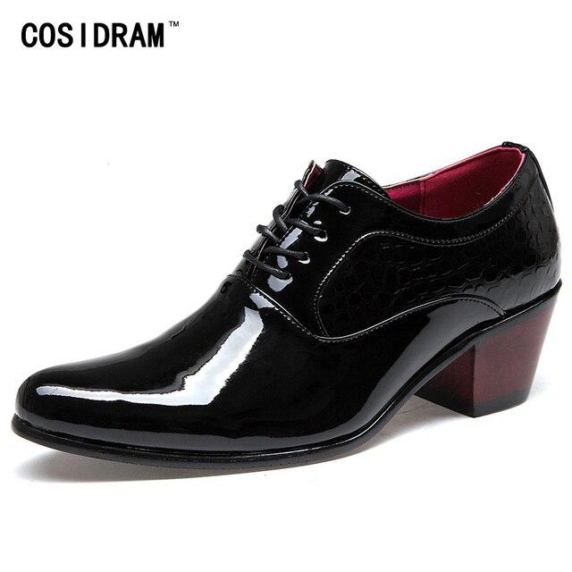 Туфли-оксфорды для мужчин в английском стиле Обувь шнурованная для женщин  Лакированная кожа Мужская деловая 96a67903a55