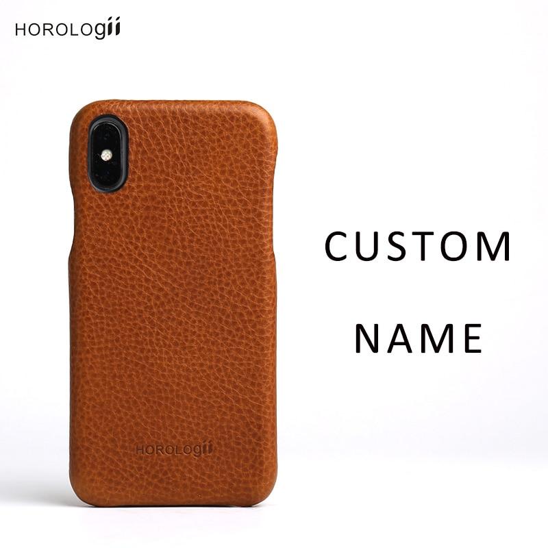 Horologii Custom Name telefonstötfångare för iphone X max - Reservdelar och tillbehör för mobiltelefoner - Foto 4