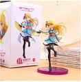 """Frete Grátis 7 """"Love Live! Anime Eli Ayase Ellie Filme Ver. B Encaixotado 17 cm Ação PVC Figura Coleção Modelo Boneca de Brinquedo de Presente"""