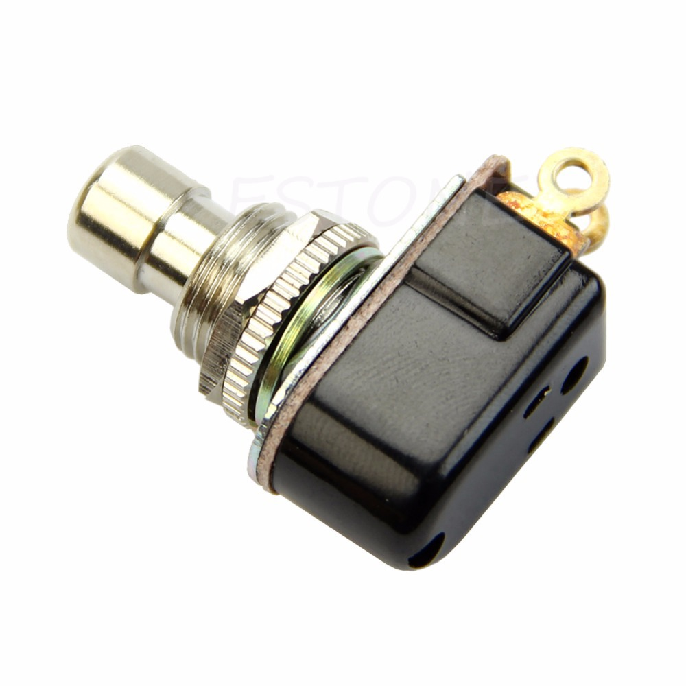 SPST Momentary Soft Touch Push Button Stomp Foot pedal switch ...