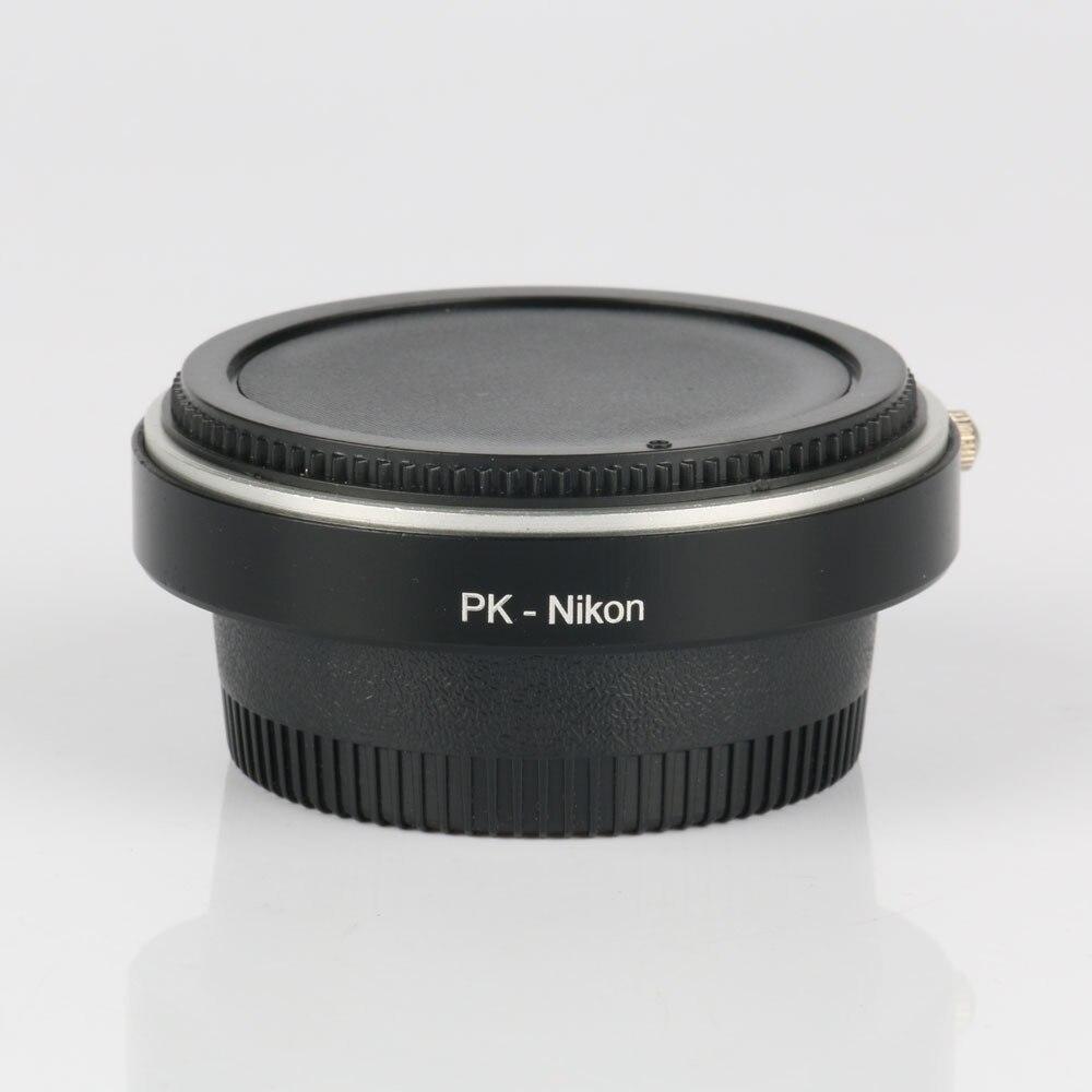 Lens Adapter ring PK AI Optical Glass Pentax PK K Lens To Nik n AI AF