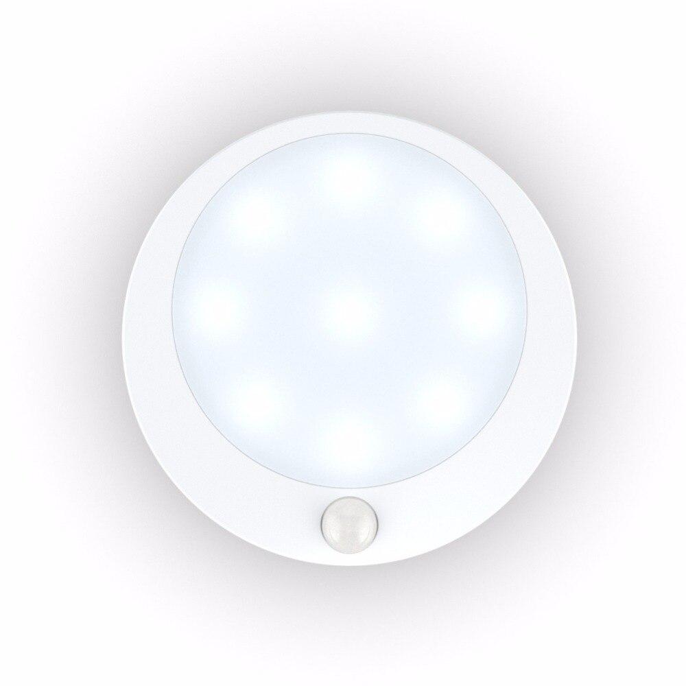 US $4 92 10% OFF|Motion Sensor Light,Wireless Battery Powered Human Body  Motion Sensor Induction 120 Degree Wide Beam Angle Sensor Night Lamp-in LED