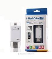 Hot Lightning Flash Drive 8gb 16gb 32gb Usb Pen Drive 6 Language Otg Usb Flash Drive