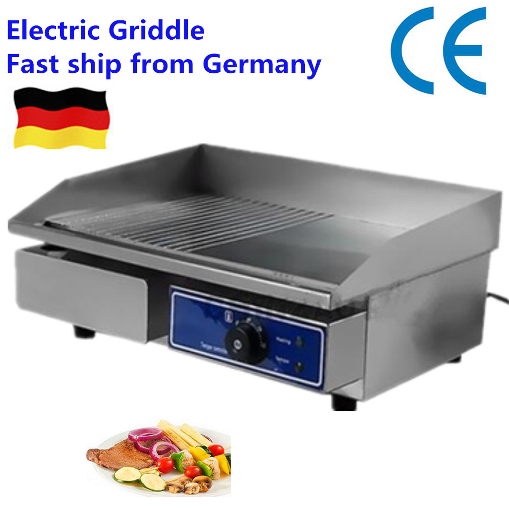 cheap Electric commercial Double Griddle Grill pan  Germany stock sexy alphamax skytube misaki kurehito comic matsuri fuyutsuki togetsu 1 6 scale pvc cheongsam figure model collection toy 16 5cm