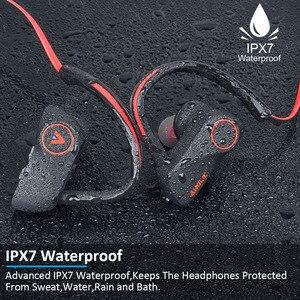 Image 2 - D200 Wireless Earphones Bluetooth Headphone IPX7 Waterproof Sports Headset Neckband Noise Canceling Stereo Earphones for xiaomi