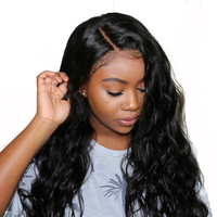 Elva Hair 13*6 Lace Front Human Hair Wigs with Baby Hair 150% Density For Black Women Pre Plucked Hairline Brazilian Remy Hair