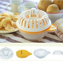 Hotsell 1pcs DIY microwave oven baked potato chips/microwave oven grill basket cutter color random