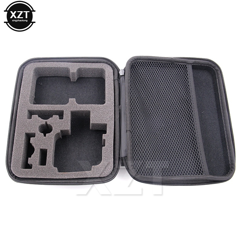 1pcs Portable Travel Storage Case Collect Box For Gopro Hero 3/4 Sj 4000 Xiaomiyi Action Camera Sport Cam Accessory
