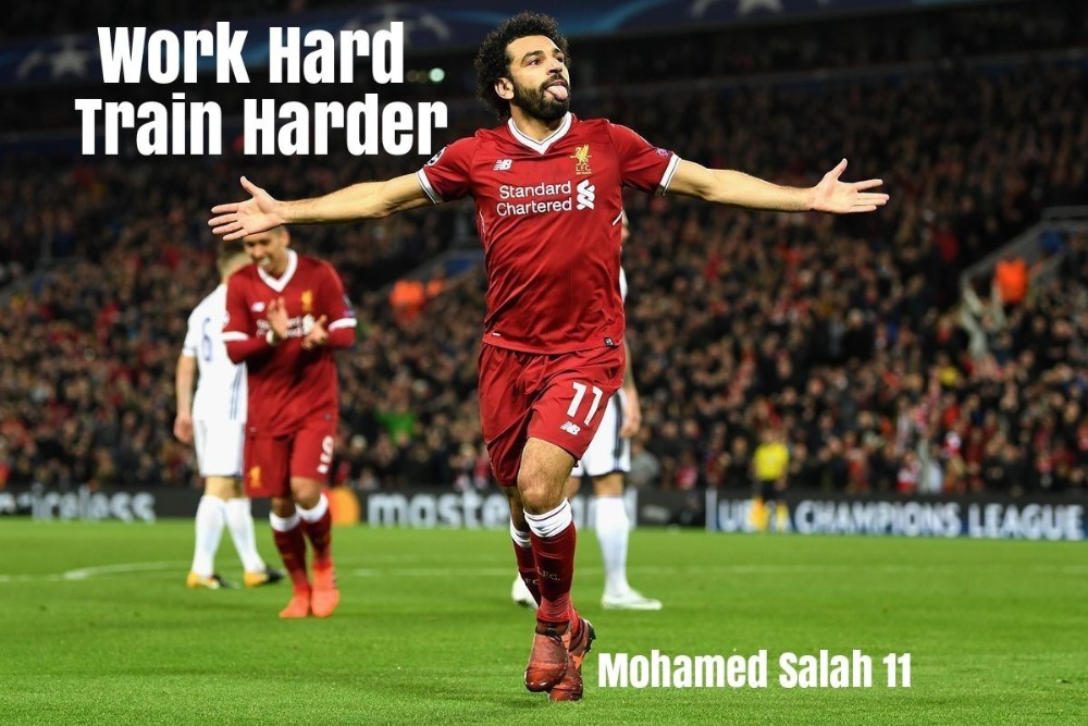 Mohamed Salah Liverpool Poster Silk Poster Wall Decor Room Painting 24X36Inch