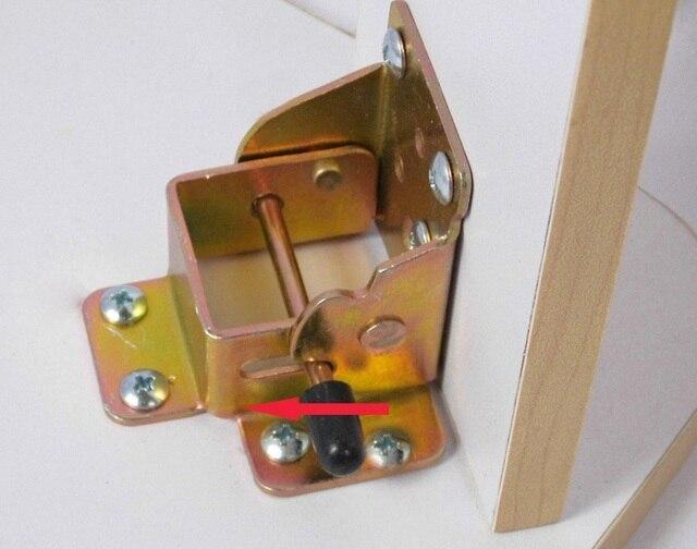 4pcs Lot Premintehdw Locking Folding Bracket Table Leg Hinge Hinges With S Furniture Rv