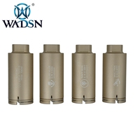 WADSN Airsoft NOV M4 Flash Hider NAVY SEAL STYLE Thread 14mm Anti Clockwise Thread Aluminum WOT0206 Tactical Hunting Accessories