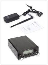 SainSonic AX-05B LCD Affichage PLL FM Longue Portée Double Mode Stéréo Diffusion Accueil Emetteur avec Antenne et Puissance Adaptateur