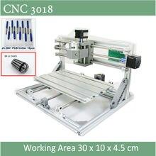 チャックとレーザーオプションの フライス木材軟質金属彫刻 CNC ER11
