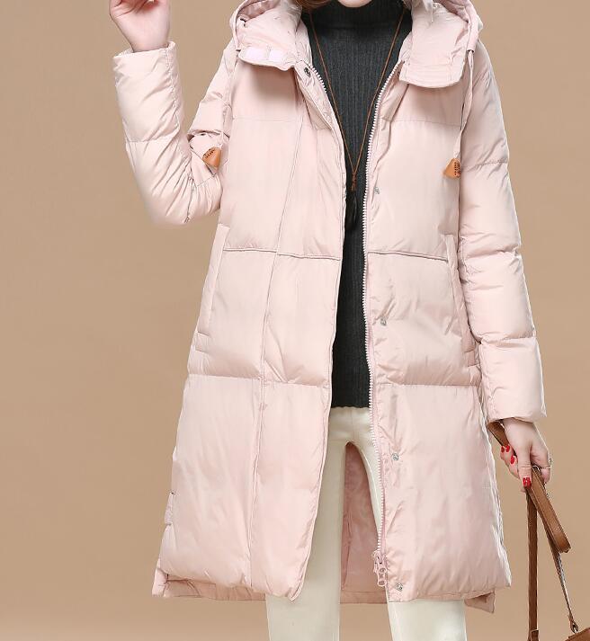 Manteau De À Coton argent Longue 2018 Hiver Mode Loisirs M Chaude or Nouveau La Lâche Capuche Femmes xl rose Noir Chaleur Conservation Épaississement OTqqBnUW