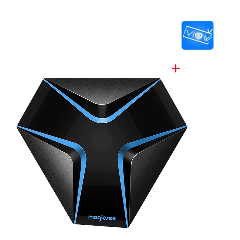 2018 New Magicsee Iron Android 7.1 iview HD IPTV TV Box Arabic IPTV Europe IPTV Included UK Arabic Germany 1000+ iview i6s plus quad core android europe iptv box with 1 year iview hd package watch uk greece germany turkey italia channels