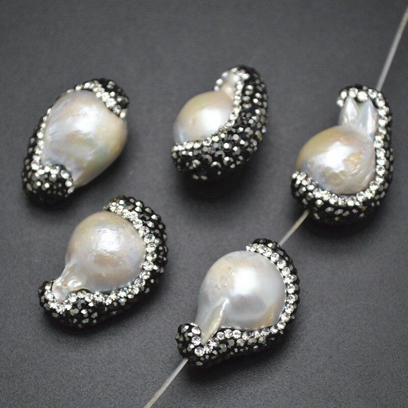 Ø3 ø4 mm//100-1000 piezas ronda de acero inoxidable de perlas entre perlas pulseras cadenas