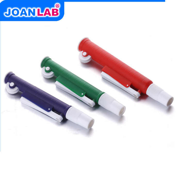 Bomba de pipeta de liberación rápida JOANLAB Lab, pipeta Pasteur de transferencia con tubo de plástico