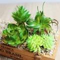 Mini Simulation Succulents 1PCS Echinacea Flowers DIY Ornaments Artificial Succulents Plants Garden Decoration E6