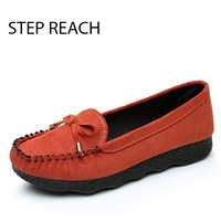 STEPREACH Brand Shoes Woman Flats Women Chaussures Femme Zapatillas Mujer Schoenen Vrouw Casual Loafers Buty Damskie