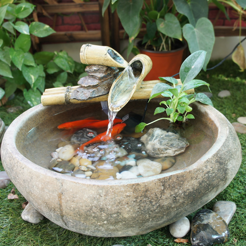 Crafts Home Decorations Natural Original Ecology Pebble Stone Made Handmade  Planing Interesting Aquarium Water Fountain On Aliexpress.com | Alibaba  Group