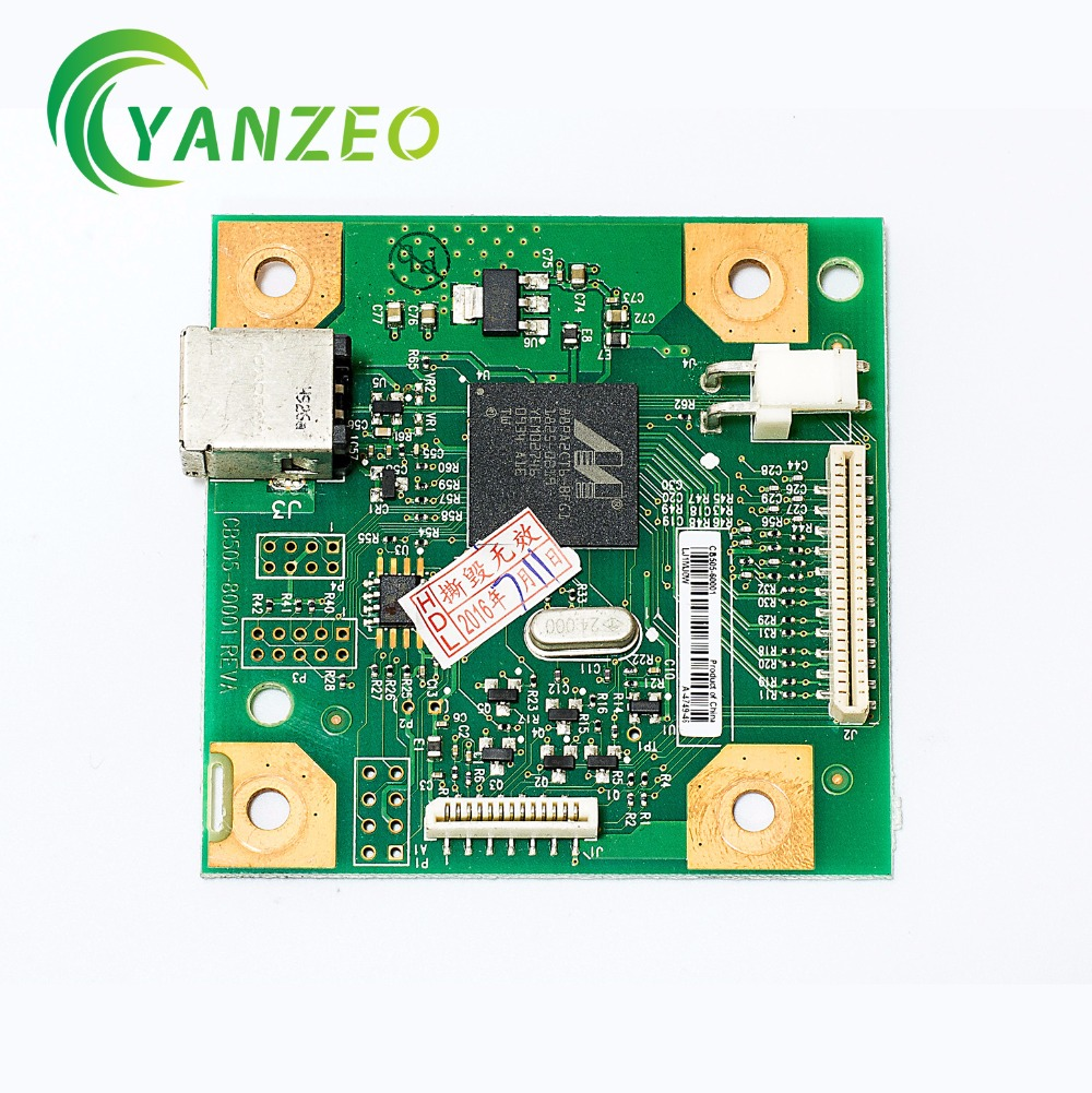 CB505-60001 for HP Color LaserJet CP1210 CP1215 CP1217 CP1218 Series Formatter Board hp laserjet laserjet 2410 2420 2420d 2430 2430t formatter usb q6508 61005 q6508 61006 q3953 60001 q3953 61003 used