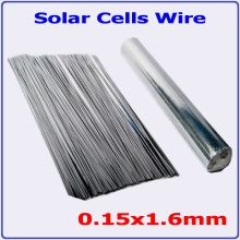 300mm precut 0.15×1.6mm 245m solar cell tab wire ; 0.15×2.0mm-195m length pv ribbon wire DIY solar panel cell soldering wire