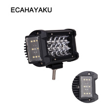 ECAHAYAKU 70W 5.5 inch led work light bar off road for 270 degree jeep truck ATV 4x4 VAS car styling offroad fog driving lamp