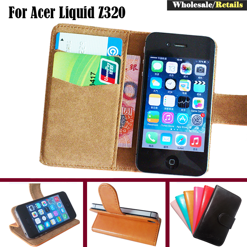 For Acer Liquid Z320 Case Factory Price Fashion Dedicated Slip Leather Protective Exclusive Phone Cover