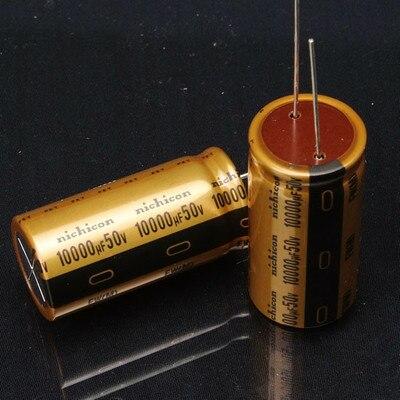 2PCS/LOT Filtering electrolytic capacitors 10000UF50V 50V10000UF 50V 10000UF 10000UF 50V 10000uf/50V NEW ORIGINAL  цены
