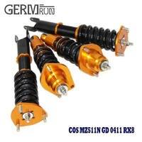 Non Adjustable Damper Suspension Shock Coilover Spring Strut Absorber For Mazda 2004 2011 RX 8