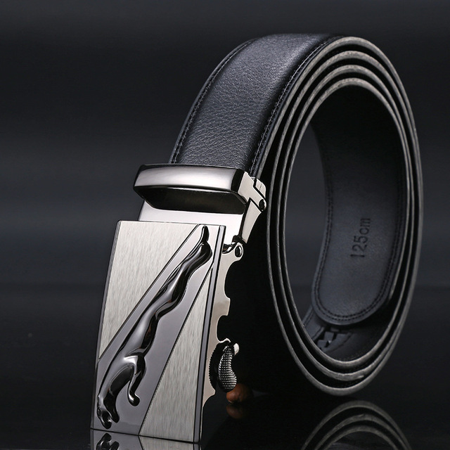 New Brand designer mens belts luxury real leather belts for men metal buckle man Jeans pants genuine leather belt male strap