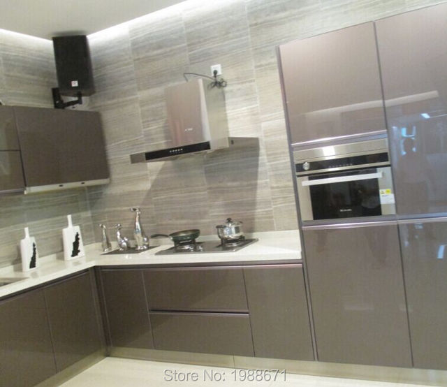 Aluminium Kitchen Cabinet Doors 304 Stainless Steel Kitchen Cabinets ...