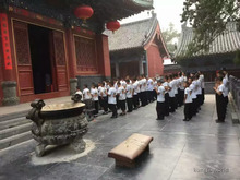 Shaolin Temple T-Shirt White Dengfeng