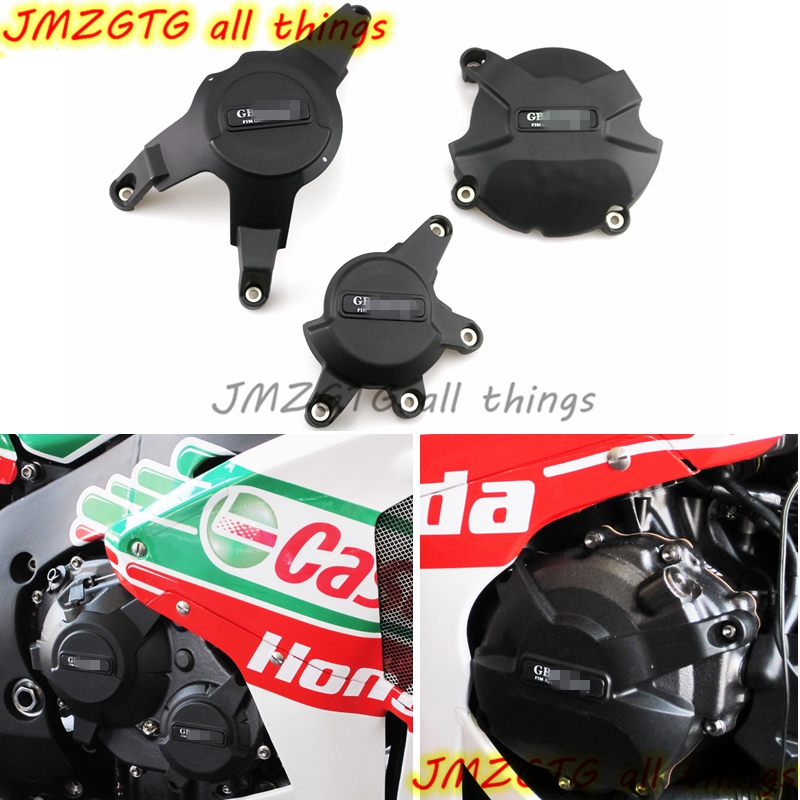 Motorcycles Engine cover Protection case for case GB Racing For HONDA CBR1000RR 2008-2016 Engine Covers Protectors купить в Москве 2019