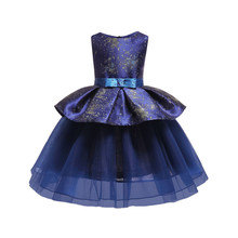 Girls Dresses Elegant Baby Girls Dress For Kids Wedding Party Princess Ball Gown Costume Children Party Evening Dresses Vestidos цена в Москве и Питере