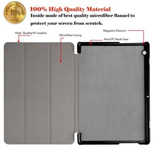Image 3 - جراب لوحي Huawei MediaPad T3 10 9.6 لهاتف Huawei T 3 10 9.6 AGS W09 AGS L09 جراب حامل من الجلد قلّاب مطبوع + قلم