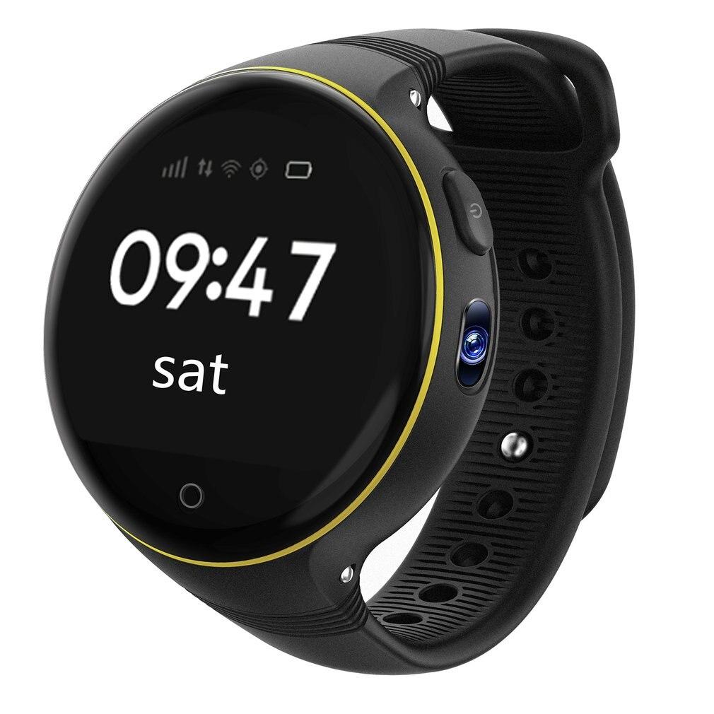 GPS LBS WiFi S668 Enfants Enfants Montre Smart Watch Écran Rround SOS Soutien SIM Carte À distance Baby Safe Zéro-distance positionnement