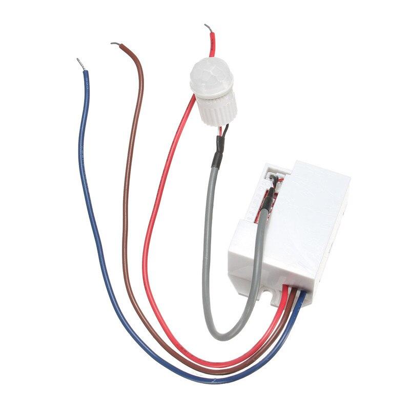 360 grad einbau pir sensor detektor lichtschalter decken belegung ...
