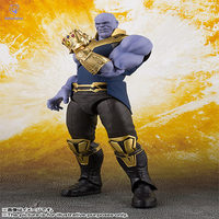 SNF Marvel Movie Avengers Infinity War Thanos Character Figure Model Toys Hands Head Can Move 16cm for kids/adult gift