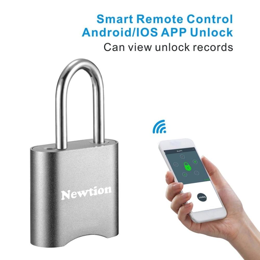 Mini Smart Lock Bluetooth Lock Electronic Password lock Keyless Waterproof Unlock Padlock Door Lock For Mobile Phone App