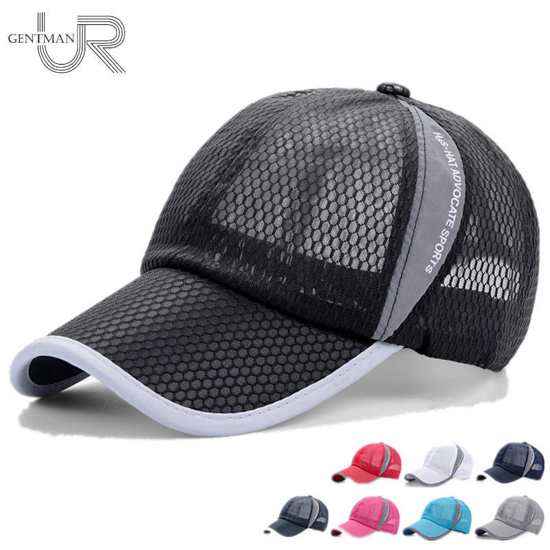 Unisex Summer Breathable Baseball Cap Simple Hat Cap Multi-color Mesh Cap hot winter beanie knit crochet ski hat plicate baggy oversized slouch unisex cap
