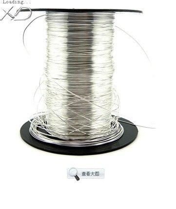 925 Sterling Silber befund, 5 meter von sterling 0,5mm Genuine ...