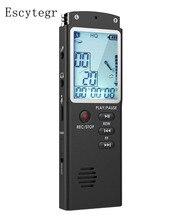 DN006 Escytegr 8G/16G/32G Âm Thanh Chuyên Nghiệp Ghi Âm MP3 Cầu Thủ Micro Kép USB Flash trình điều khiển Âm Thanh Kích Hoạt Kỷ Lục
