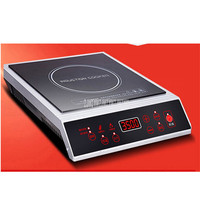 3500W Multifunction Stir fry Electric Induction Cooker Black Crystal Panel Commercial 10 Gear Household Restaurant Use HT20 L2
