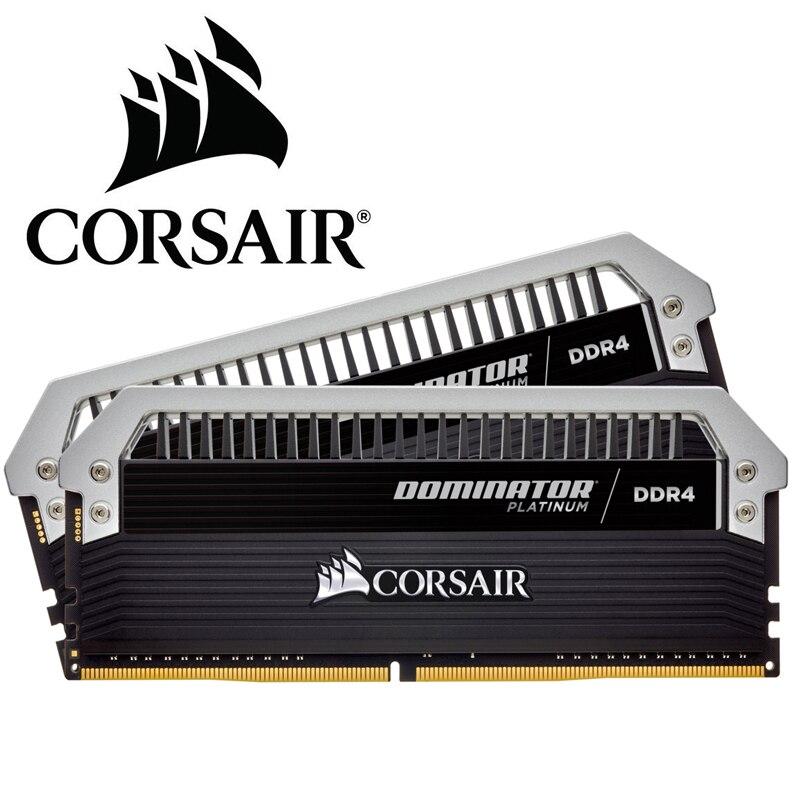 Corsair Dominator Platin Ram Memoria Modul Neue 16 Gb 2x8 Gb Dual-kanal Ddr4 Speicher Pc4 3600 3200 3000 Mhz Desktop Dimm C16 Dinge Bequem Machen FüR Kunden