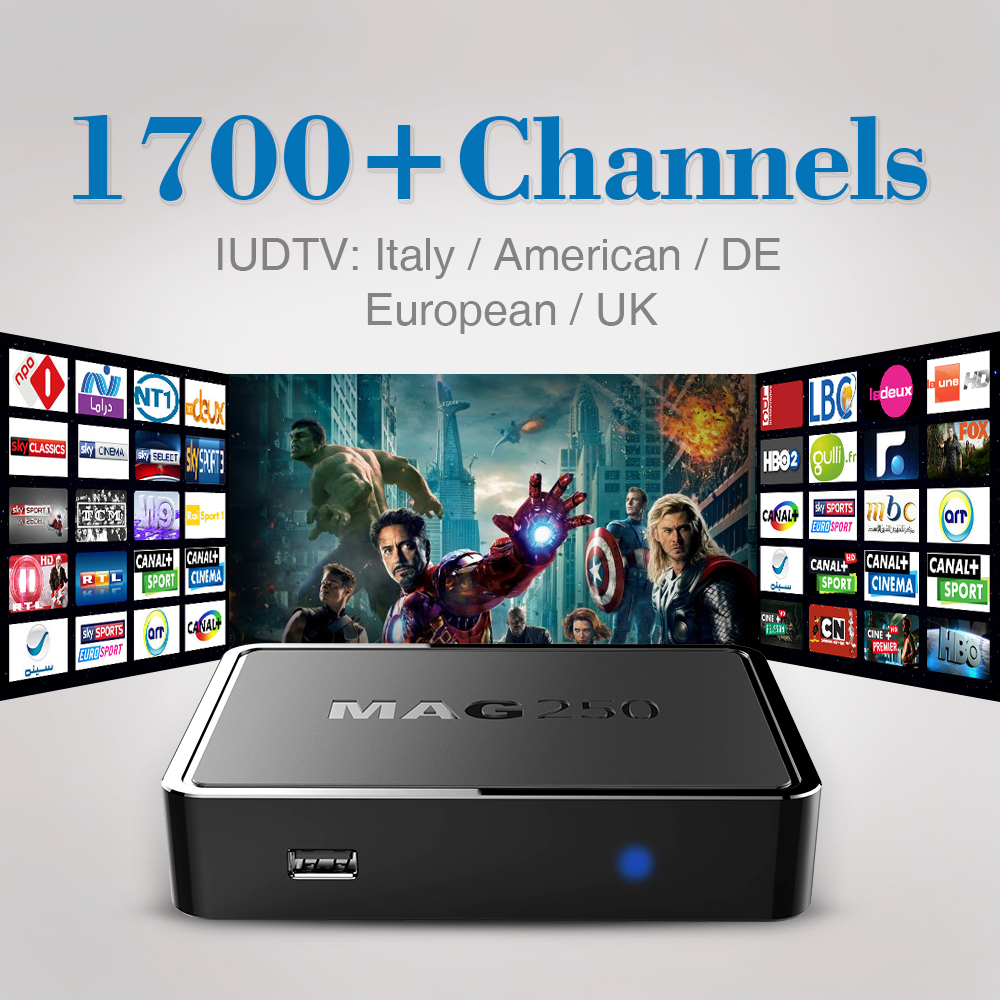 ФОТО MAG 250 Iptv Set Top Box Italy UK DE European IPTV Box For Spain Portugal Turkish Netherlands Sweden French MAG250 IPTV Box