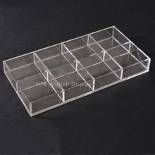 Acrylic Beads Kit Box Storage Craft For Jewelry Making Accessories Organizer With 8 Compartments